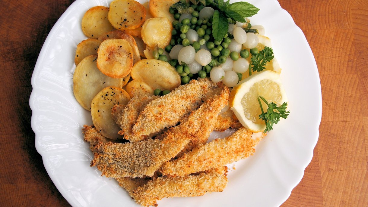 Fish on Friday: Cumin Scented Plaice Goujons with a Panko Crumb