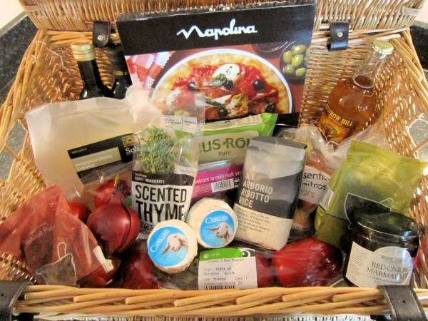 Capricorn Goat's Cheese Hamper for the Capricorn Challenge