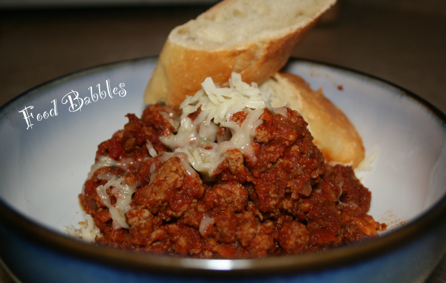 Simple Chili by Food Babbles