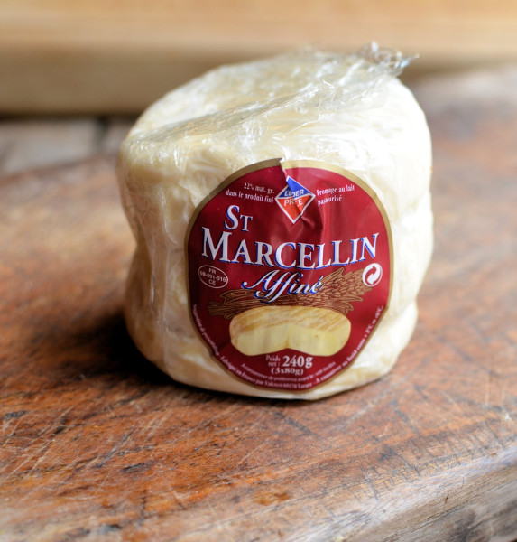 Saint Marcellin Cheese, Tomatoes and Basil - A Delectable Random Recipe from Nigel Slater