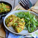 A Spring Fling Recipe for the 5:2 Diet! Low-Calorie Minted Pea & Vegetable Frittata – 200 calories