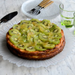 Divine Dinner Party Classic: Baked Kiwi and Stem Ginger Cheesecake (Recipe)