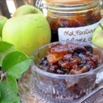 The Autumn Garden, Windfalls and Old Fashioned Scottish Apple and Ginger Chutney