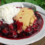 Muddling Along, Summer Memories: Jumble Berry Crumble with Shortbread Topping